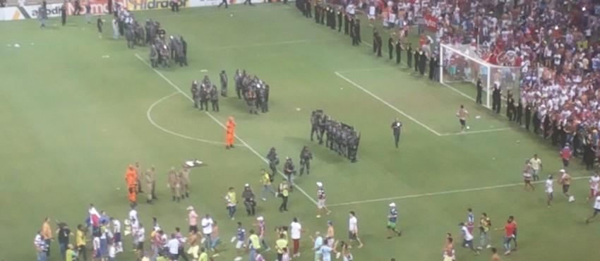Mídia internacional repercute vandalismo na final do Campeonato Cearense de 2015