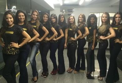 Metade das candidatas ao Miss Fortaleza torce para o Leão do Pici