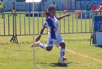 Menina de 11 anos é destaque na etapa da Copa das Nações Danone no Ceará