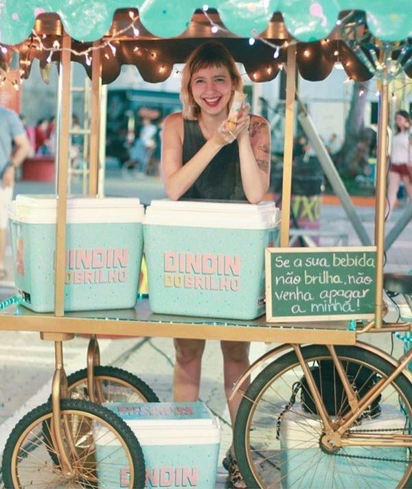 Food bikes viram febre ao 'gourmetizar' a tradicional bicicleta de lanche