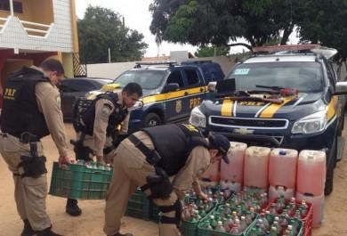 Polícia apreende 12 mil litros combustível adulterado no Ceará