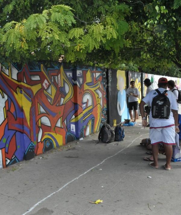 Aplicativo guia o usuário para intervenções com arte urbana em Fortaleza
