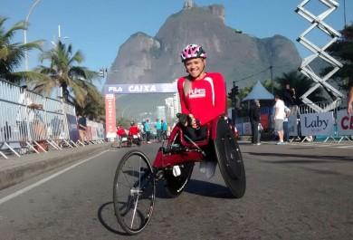 """Paratleta cearense vence Meia Maratona do Rio: """"cruzei a linha chorando de emoção"""""""