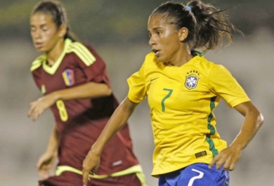 Cearense titular da seleção brasileira sub-20 participa do Sul-Americano