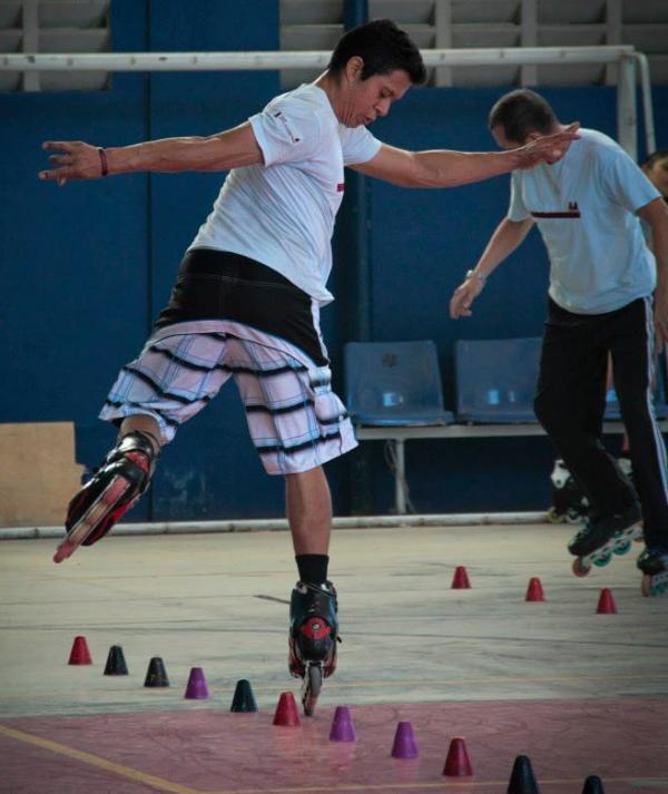 Fortaleza recebe competição gratuita de patinação