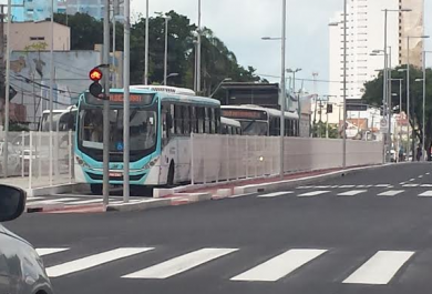 Corredor gera ganho de 90% em velocidade operacional dos ônibus