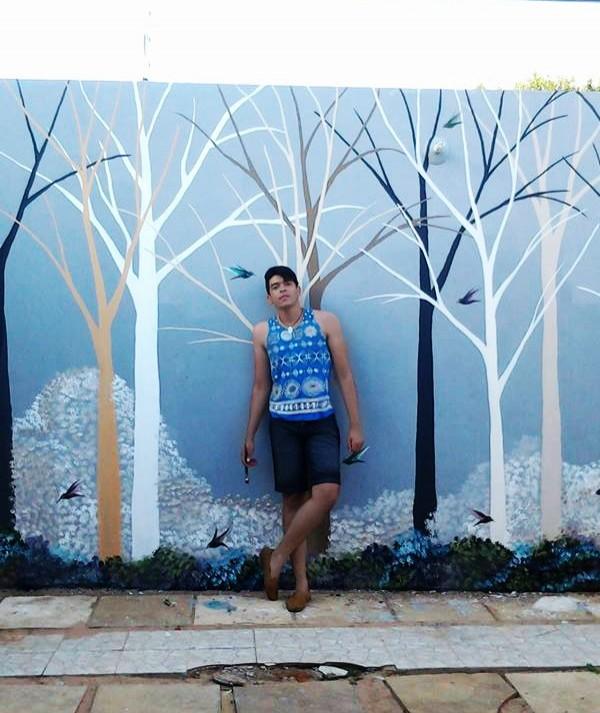 Artista do Crato conquistou elogios de Madonna com intervenções nos muros