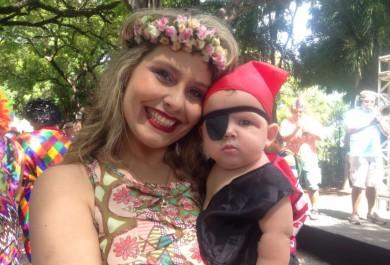 Fofura e diversão marcam primeiro de Carnaval no Passeio Público
