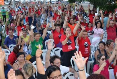 Professores da rede municipal de ensino entram em greve a partir desta sexta