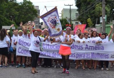 Movimento feminista foi destaque no Carnaval 2016