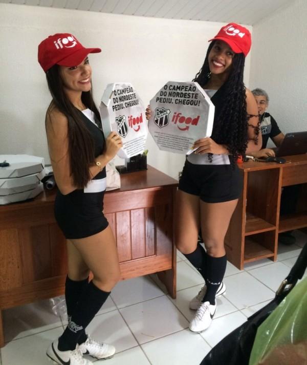 Novo patrocinador do Ceará é aplicativo líder em delivery no Brasil