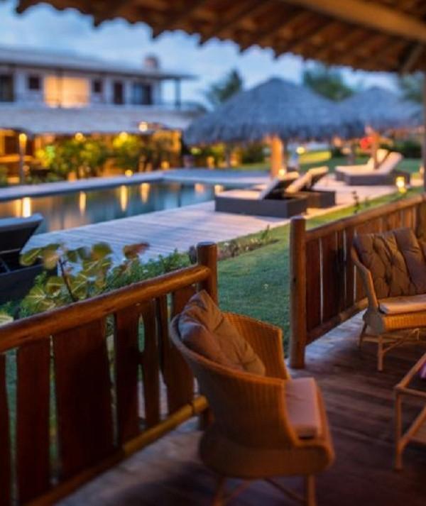 Oito hotéis cearenses entram em lista dos melhores do Brasil. Seis são de Jeri