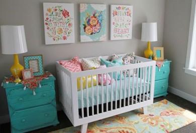 Inspirações descoladas pra um quarto de bebê diferente