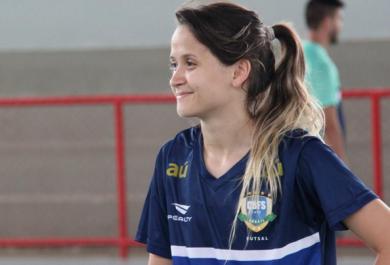 Amandinha concorre a prêmio de melhor jogadora de futsal do mundo