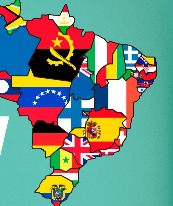 E se os estados brasileiros fossem países?