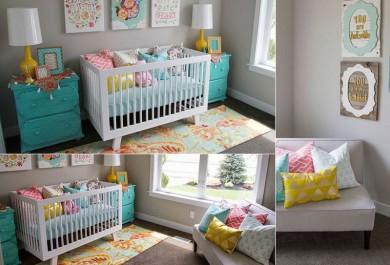 Inspirações lindas (e fofas) para um quarto de bebê